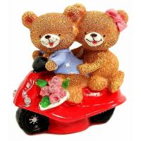 C 10595 (2) медвежата 7*6,2*8см