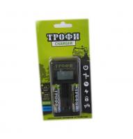 Заряд.устр.ТРОФИ ТR-803+2HR6 2500 mAh