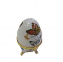 36302 Шкатулка-яйцо 5*8см