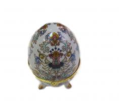 36309 Шкатулка-яйцо 5*8см