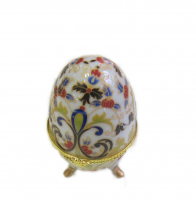 36304 Шкатулка-яйцо 5*8см