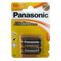 Бат. PANASONIC LR03-4BL(48)