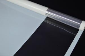 Плёнка 0,58*10м глянцевая с окошком 50мкм Белый