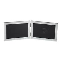 Фоторамка  Image Art 6022/2-4S двойная, серебро