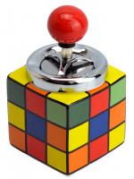 """К20413 Пепельница """"Кубик Рубика""""8,5*8,5*14,5см"""