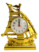 К9216 Часы-будильник Парусник 21,5*17 см