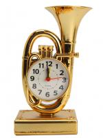 К9210 Часы-будильник Труба 19*9,5см