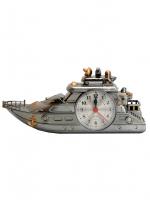 К9215 Часы-будильник Яхта 10*23 см