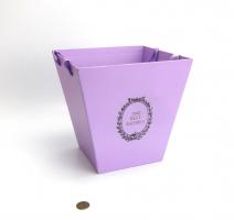 """К20458-4 Подарочная упаковка """"Ваза для цветов""""25*25*25 см"""