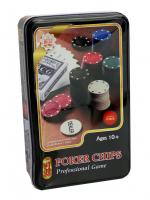 К8092 Набор для игры в покер 100 фишек