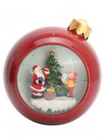 К20371 Фонарь новогодний Шар (на батарейках) 15*13*13,5(12)