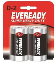Элемент питания EVEREADY Super Heavy Duty R20  BP2