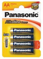 Элемент питания Panasonic LR6  Alkaline  Power BL*4 (CDS)