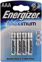 Элемент питания ENERGIZER E92 /LR03 MAX BP4