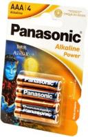 Элемент питания Panasonic LR03  Alkaline SR4
