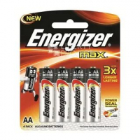 Элемент питания ENERGIZER E91/LR6 MAX BP4 E300157100