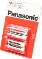 Элемент питания Panasonic R6 HD Zinc Carbon BP4