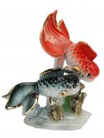 К30216 Фигурка Золотые рыбки 12*8,5 см
