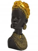 К30092 Изделие Декоративное африканка 26 см (полистоун)