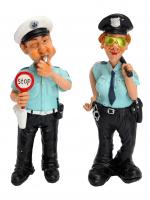 К30082 Фигурка декоративная Полицейский 17 см (полистоун)