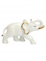 К30135 Фигурка Слон 11 см (фарфор)