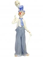 К30161 Фигурка декоративная Клоун 30 см (фарфор)