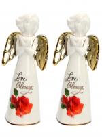 К30236 Статуэтка ангел 15*6 см (фарфор)(2)