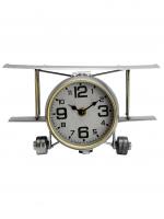 К30100 Часы настольные Самолет 26,5*19,5*15 см