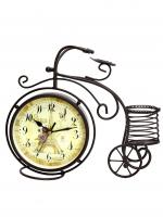 К30107 Часы кварцевые Винтаж с карандашницей 31*27,5*9,5 см