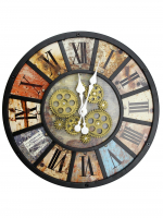 К30114 Часы настенные Римские Цифры 42*6.5 см