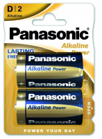 Элемент питания Panasonic LR20 Alkaline Power 2BP