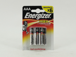 Элемент питания ENERGIZER E92 /LR03 MAX BP6