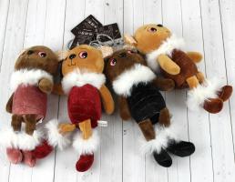 Брелок-игрушка Заяц с стразами