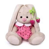 SidX-375 Зайка Ми в розовом платье с клубничкой (малыш)