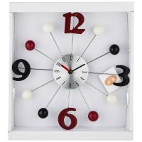 Настенные часы Lefard, кварцевые, 764-035, 32,5 х 32,5 х 4 см