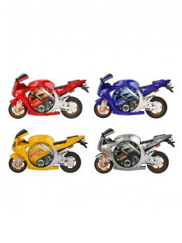 К30593 Часы настенные Мотоцикл (4 цвета)