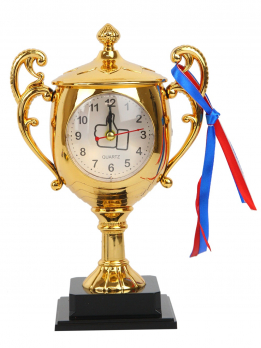 К30608 Часы-будильник Кубок