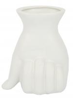 К30674 Ваза керамическая PALM 12,5*14,8 см