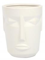 К30675 Ваза керамическая Маска 14,5*18,2 см