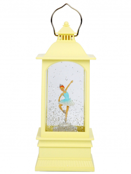 К30525 Фонарь с подсветкой Балерина 8*8*19,5см (USB+16 мелодий,фигурка поворотная) (12)
