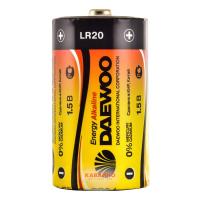 Daewoo LR20 ENERGY Alkaline 2021 BL-2 (кратно 2)