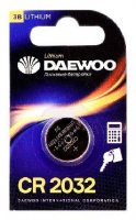 DAEWOO CR2032 2021 BL-1 (кратно 1)