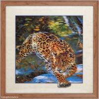 Картина 5D 30х40 075 Леопард / ZR8210H-222411 /