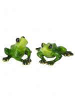 КYX9033 Фигурка декоративная лягушка 10,3*8,8*4,7 см (2 вида)(48)