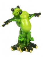 КYX5125 Фигурка декоративная лягушки  13*7*13см (24)