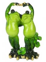 КYX5126 Фигурка декоративная лягушки  9*6,5*14см (24)