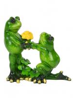 КYX5133 Фигурка декоративная лягушки 11,8*5*11,8 см (24)