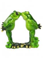 КYX5134 Фигурка декоративная лягушки 12,5*6,8*11,8 см (24)