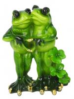 КYX5135 Фигурка декоративная лягушки 10*6,3*12 см (24)