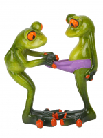 КYX6082Е Фигурка декоративная лягушки 11,5*6*13,5 см (24)